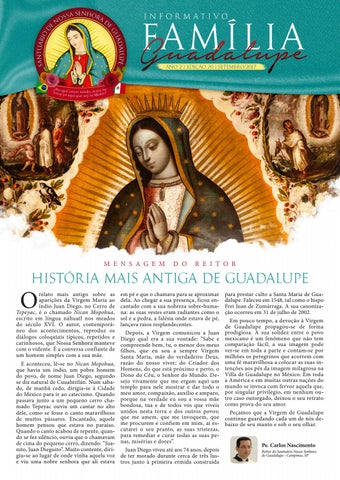 [Informativo Família Guadalupe – 20ª Edição]