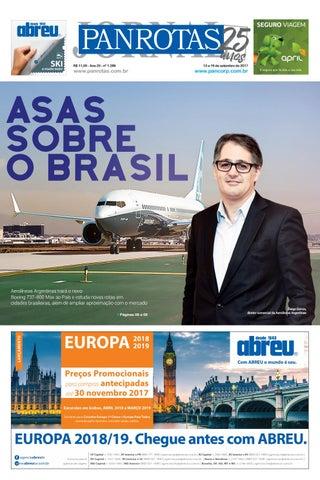 Quinta capa - Jornal PANROTAS 1286