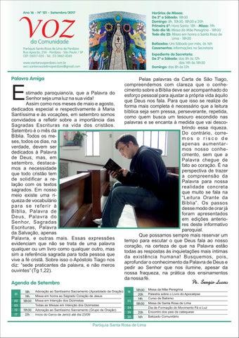 [Jornal Santa Rosa de Lima – Setembro de 2017]