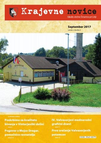 Krajevne novice september 2017 (Letnik 2, številka 5)