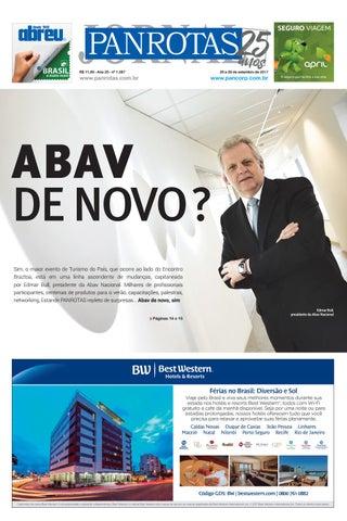 Quarta capa - Jornal Panrotas 1.287