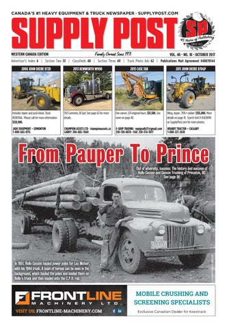 Supply Post Western Cover - September 2017