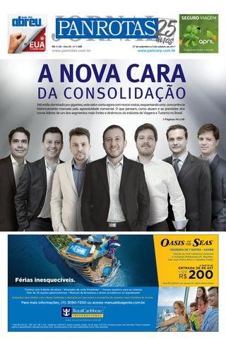 Terceira capa - Jornal PANROTAS 1.288