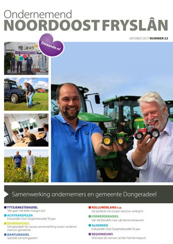Ondernemend Noordoost Fryslân oktober 2017
