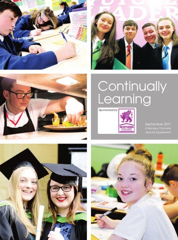Front Cover Image for Education 22nd September 2017