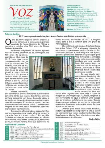 [Jornal Santa Rosa de Lima – Outubro de 2017]