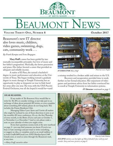 Beaumont News October 2017