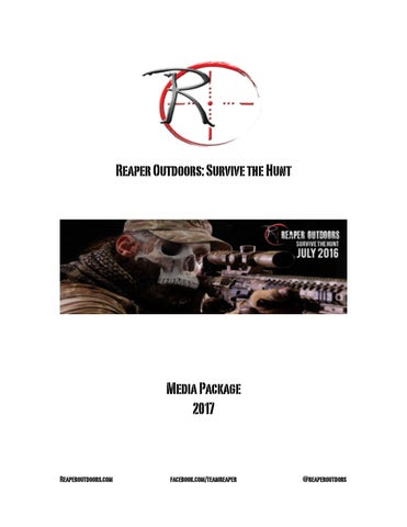 Reaper Outdoors  2017 media package pdf