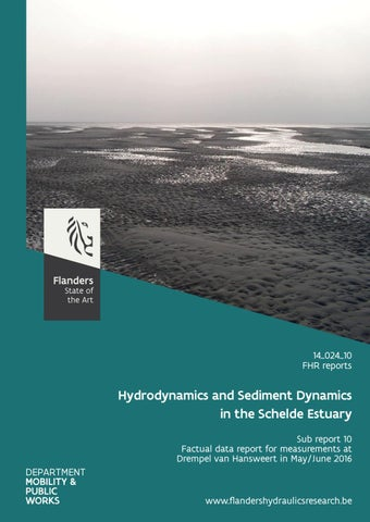 Agenda for the future. Mesoscale hydro- and sediment dynamics in the Schelde estuary. Sub report 10