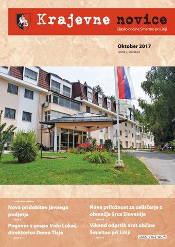 Krajevne novice oktober 2017 (letnik 2, številka 6)