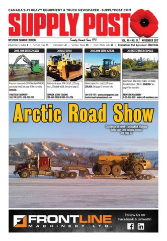 Supply Post Western Cover - November 2017