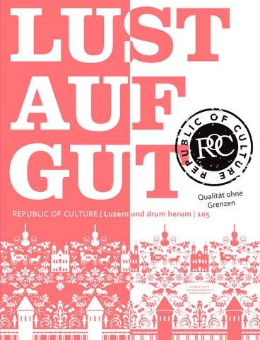 LUST AUF GUT Magazin | Luzern Nr. 105