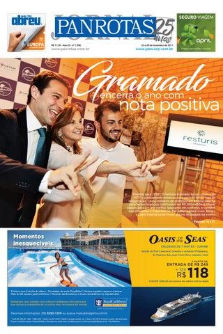 Primeira capa - Jornal PANROTAS 1.296