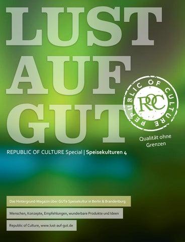 LUST AUF GUT Magazin | Special: Berlin Speisekulturen 04