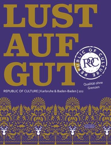 LUST AUF GUT Magazin | Karlsruhe & Baden-Baden Nr. 102