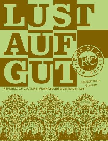 LUST AUF GUT Magazin | Frankfurt Nr. 101