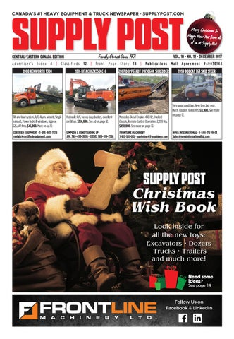 Supply Post Eastern Cover - December 2017
