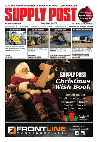Supply Post Western Cover - December 2017