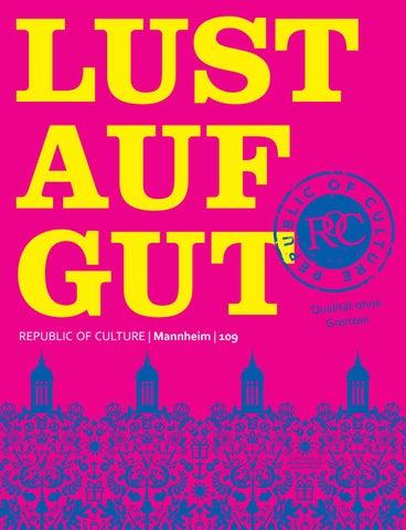 LUST AUF GUT Magazin | Mannheim Nr. 109