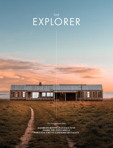 The Explorer - 10: The TRANSFORMATION Issue cover