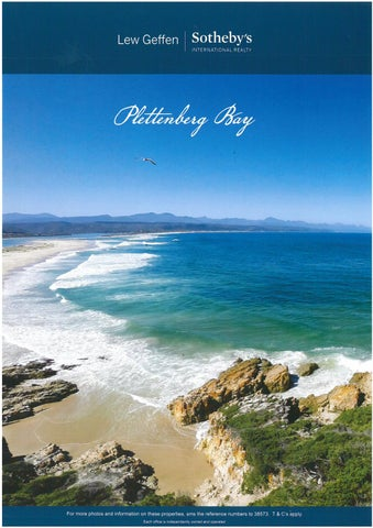 The cover of sothebys_international_realty_plett