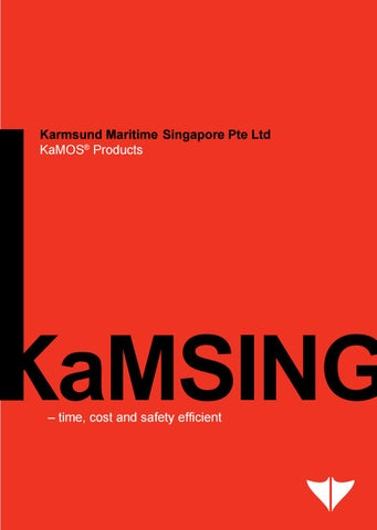 2 – KaMSING® Products - Brochures