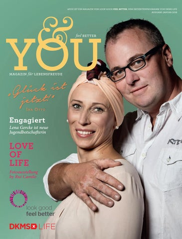 DKMS LIFE Magazin &you 1/2018