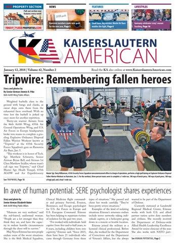 Kaiserslautern American, Jan. 12, 2018