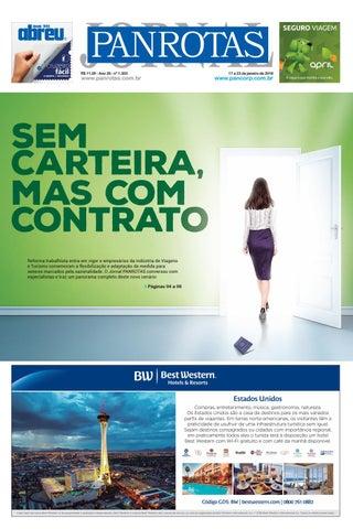 Capa de Jornal PANROTAS 1.303