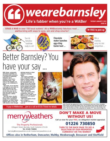 We are Barnsley 9th January 2018
