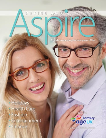 Front Cover Image for Retire & Aspire supplement 2018