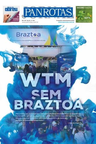 Capa de Jornal PANROTAS 1.305