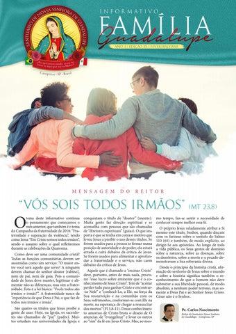 [Informativo Família Guadalupe – 25ª Edição]