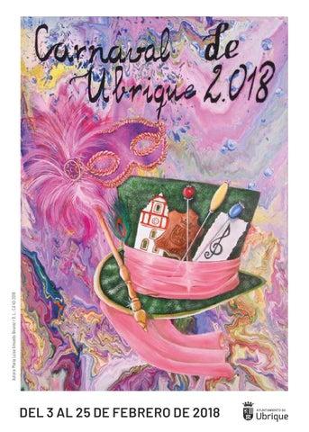 Programa del Carnaval de Ubrique 2018