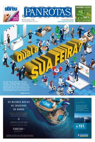 Capa de Jornal Panrotas 1.306