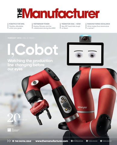 The Manufacturer February 2018
