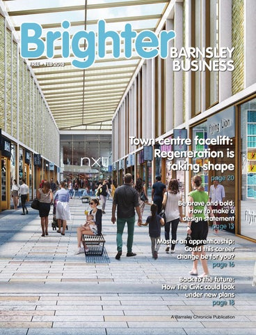 Front Cover Image for Brighter Barnsley business february 2018