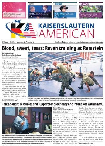 Kaiserslautern American, Feb. 9, 2018