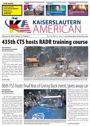 Kaiserslautern American, February 16, 2018