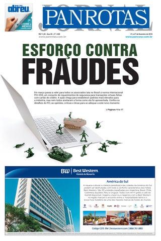 Capa de Jornal PANROTAS 1.308