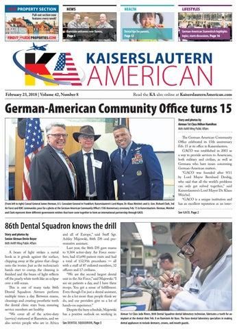 Kaiserslautern American, February 23, 2018