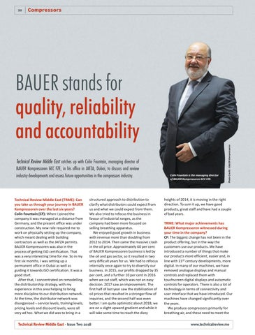 BAUER stands for quality, reliability and accountability