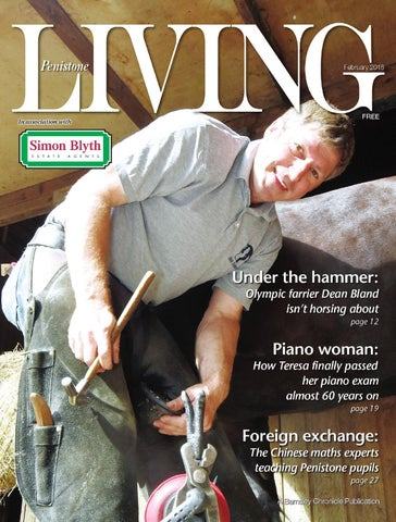 Front Cover Image for Penistone Living February 2018