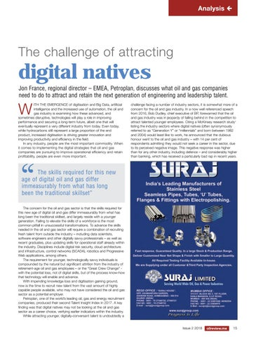 The challenge of attracting digital natives