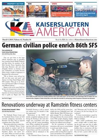 Kaiserslautern American, March 9, 2018