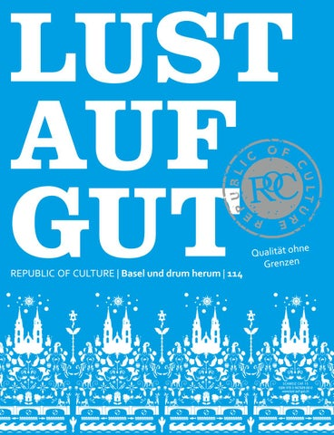 LUST AUF GUT Magazin | Basel Nr. 114