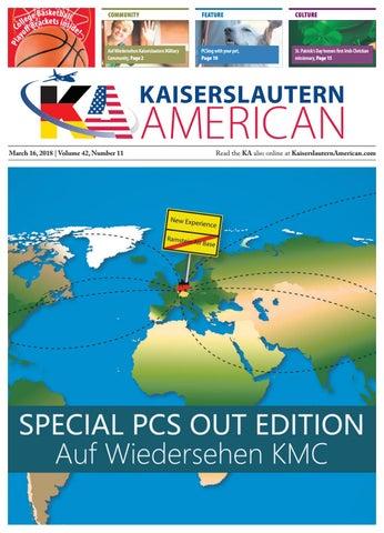 Kaiserslautern American, March 16, 2018