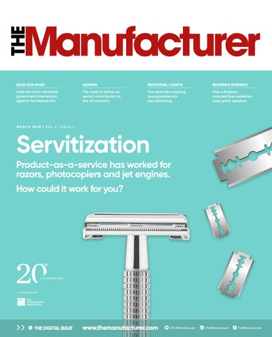 The Manufacturer March 2018