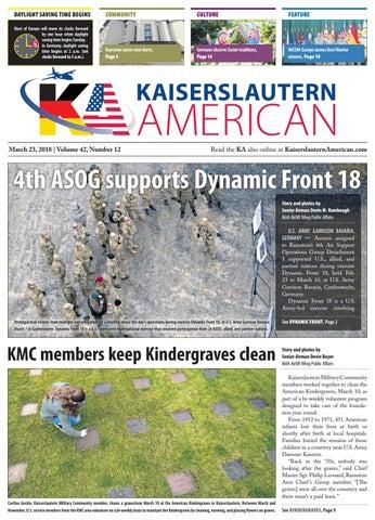 Kaiserslautern American, March 23, 2018