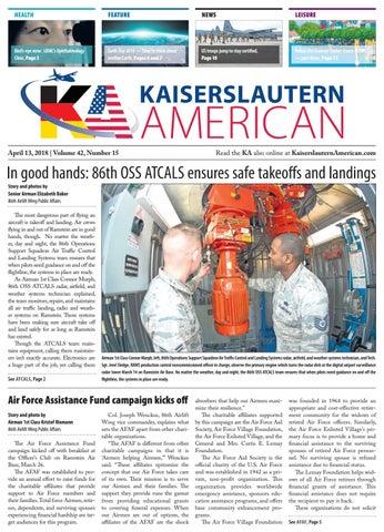 Kaiserslautern American, April 13, 2018